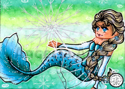 #50 Elsa Chibi Mermaid