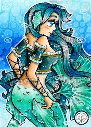 #143 Ice Mermaid