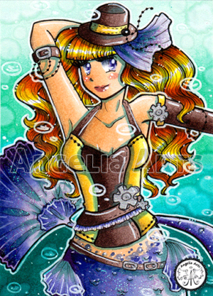 #175 Steampunk Mermaid