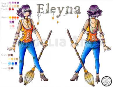 """Beispiel """"Eleyna"""""""