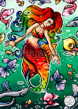 #88 Rainbow Mermaid