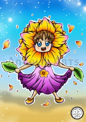 Flower Chibi