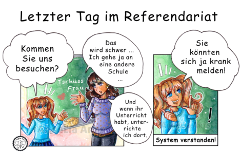 Lehrer Comic-Strip 6