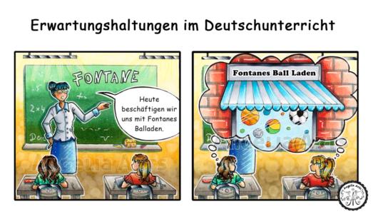 Lehrer Comic-Strip 1