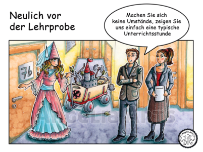 Lehrer Comic-Strip 2