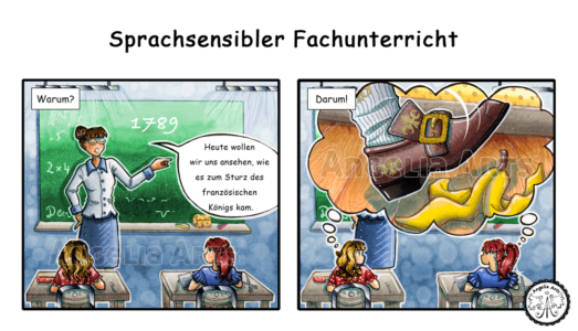 Lehrer Comic-Strip 3