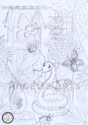 Skizze Plant Room