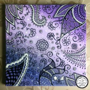 Violette Muster
