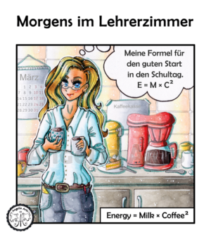 Lehrer Comic-Strip 4