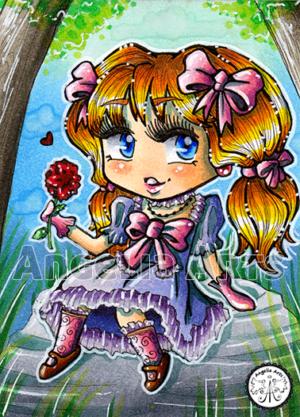 #105 Sweet little Girl