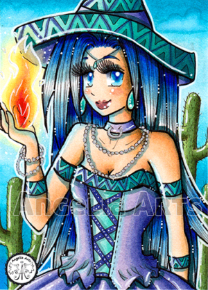 #128 Mexican Witch