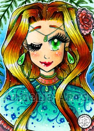#162 Poncho Lady