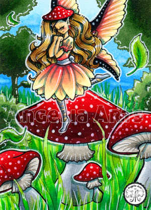 #178 Toadstool Fairy
