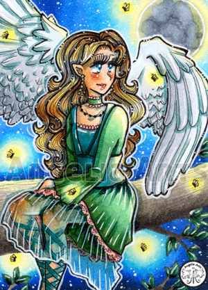#230 Fullmoon Angel