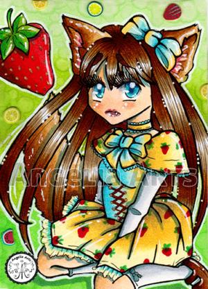 #98 Strawberry Neko